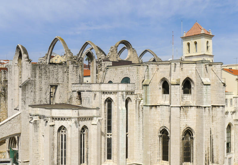 Monaster Hieronymites w Lisbon obrazy royalty free