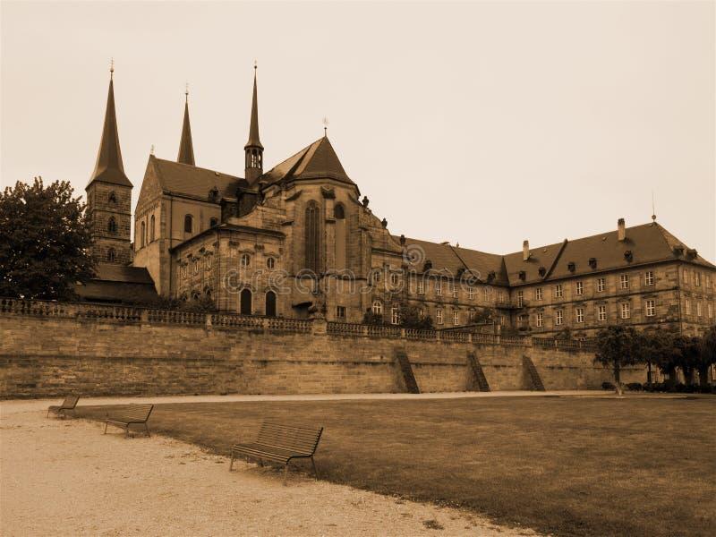 Monaster Michelsberg w Bamberg, Niemcy obrazy stock