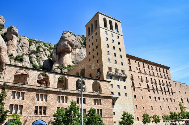 monaster Montserrat obrazy stock
