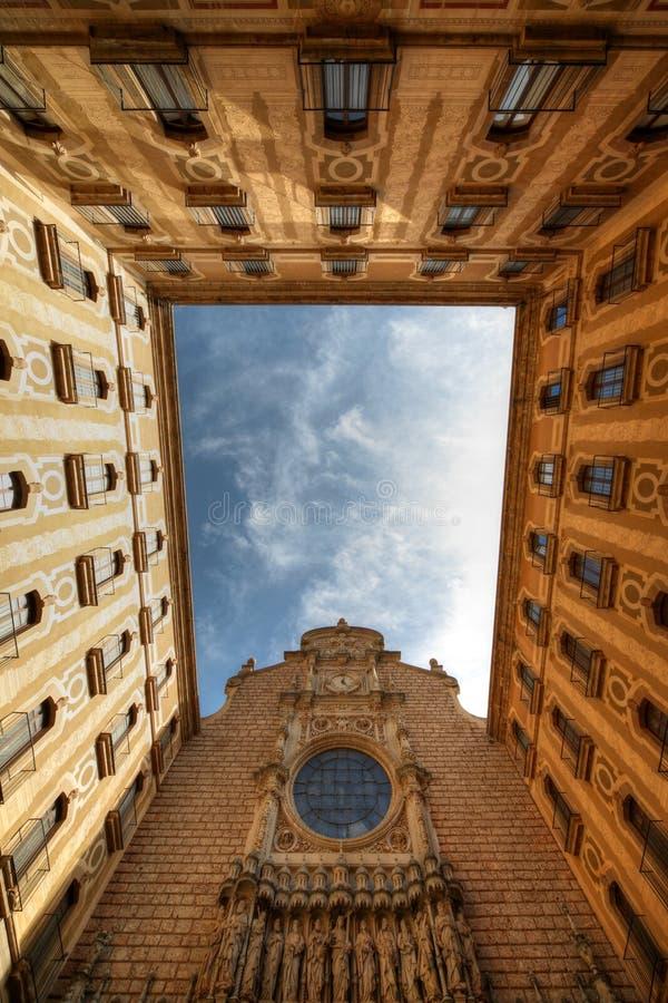 monaster Montserrat Spain zdjęcie royalty free