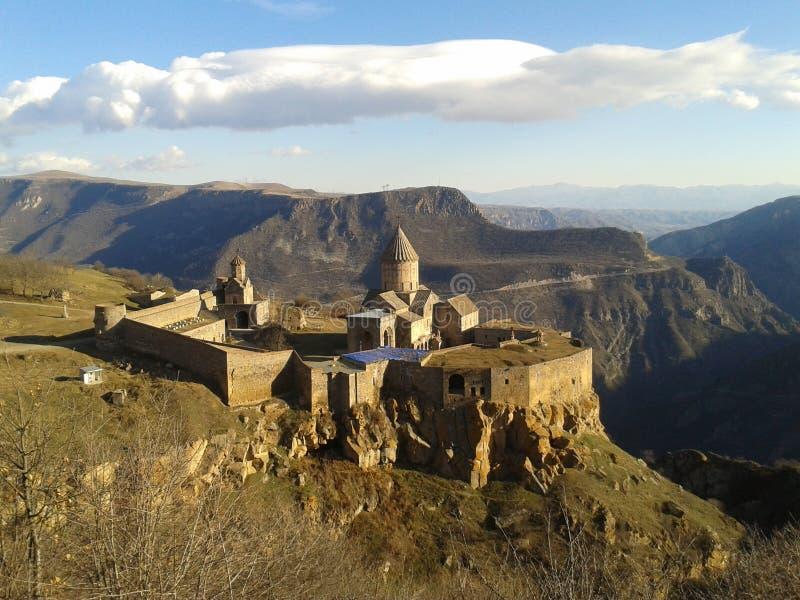 Monaster przy południowym Armenia fotografia royalty free