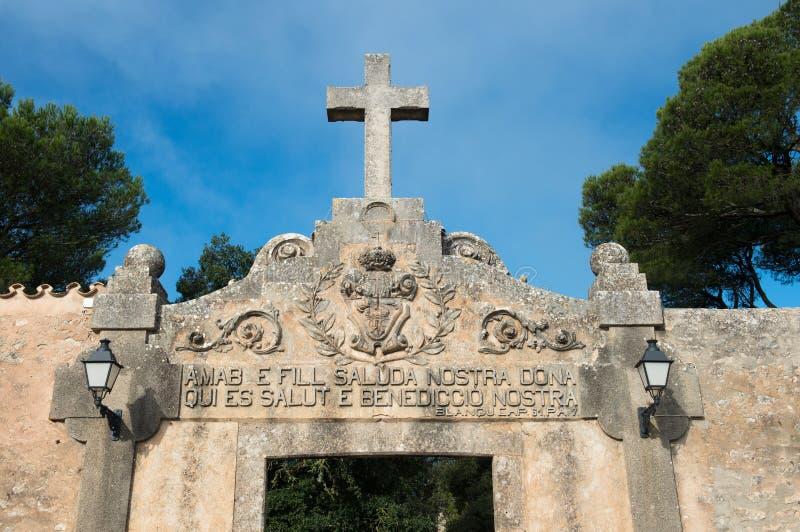 Monaster Santuari De Cura zdjęcia stock