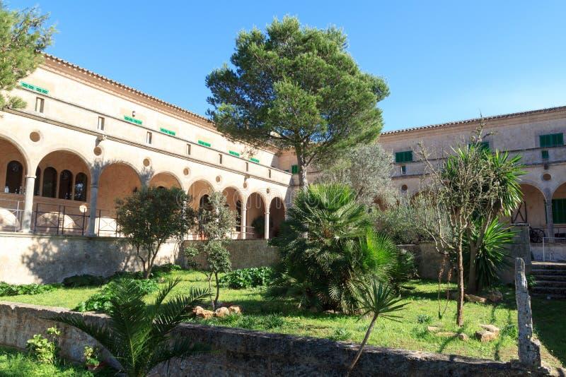 Monaster Santuari De Cura na Puig De Randa, Majorca zdjęcie stock
