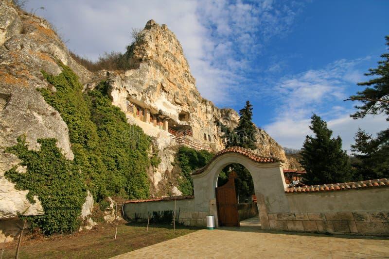 monaster skała zdjęcia royalty free