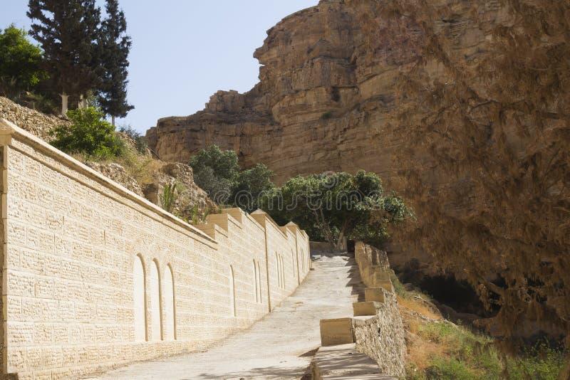 Monaster St. George ogrodzenie zdjęcia stock