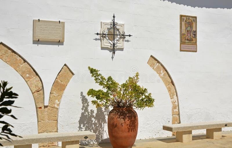 Monaster St Michael, Lliria, Hiszpania obraz royalty free