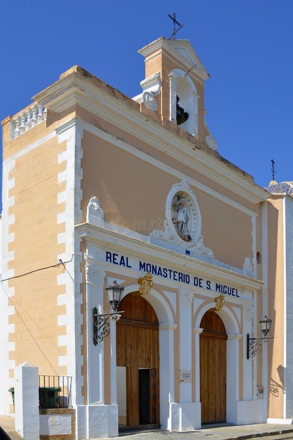 Monaster St Michael, Lliria, Hiszpania zdjęcie stock