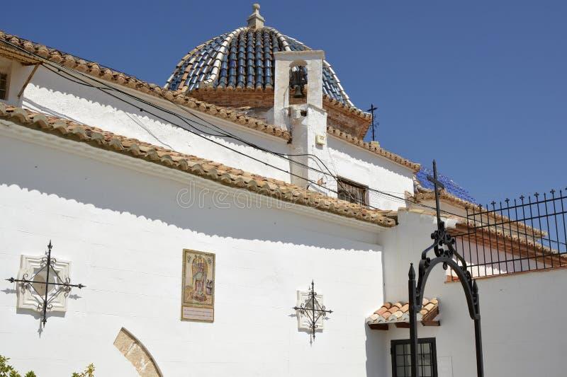 Monaster St Michael, Lliria, Hiszpania zdjęcia stock