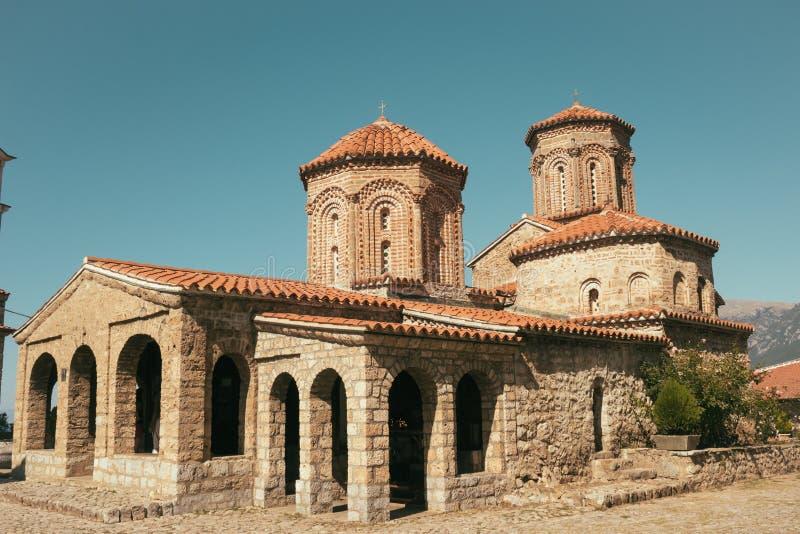 Monaster Sv Naum, Ohrid -, Macedonia fotografia royalty free