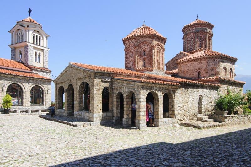 Monaster sv naum ohrid Macedonia jeziorna republika Europe fotografia royalty free