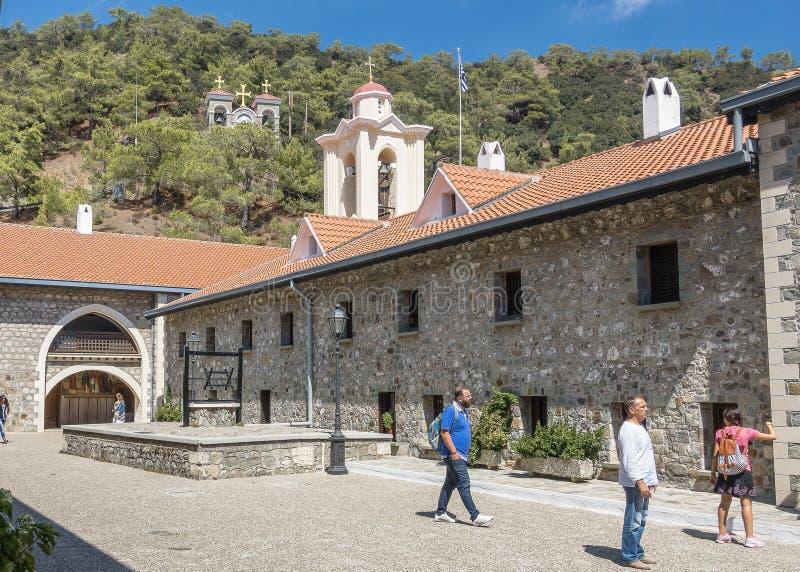 Monaster w Cypr fotografia royalty free