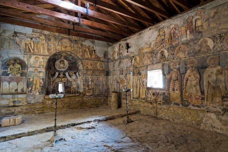 Monaster w Grecja zdjęcie stock