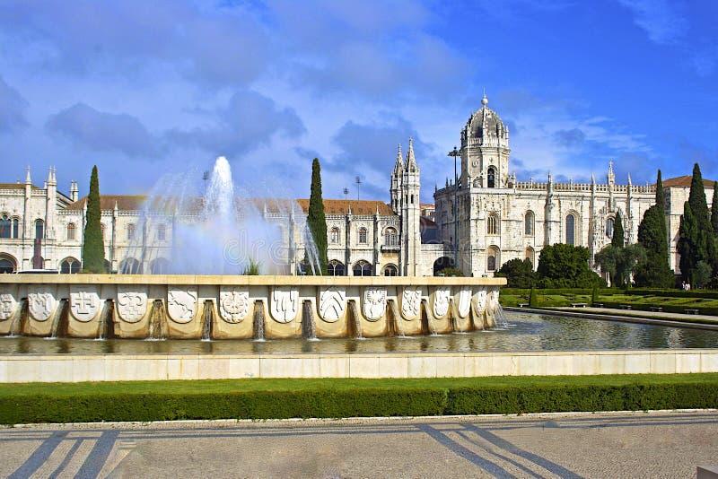 Monaster w Lisbon, Portugalia obraz royalty free