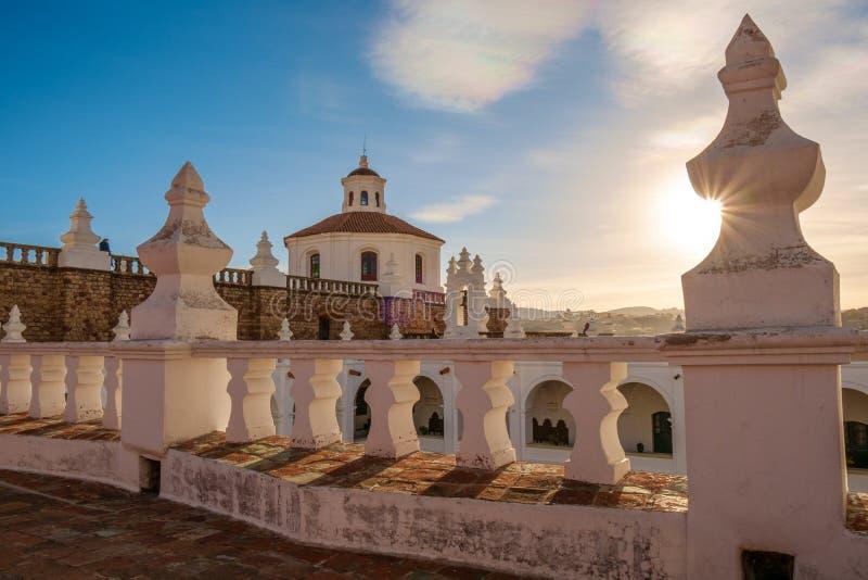 Monaster w Sucre, Boliwia zdjęcia stock