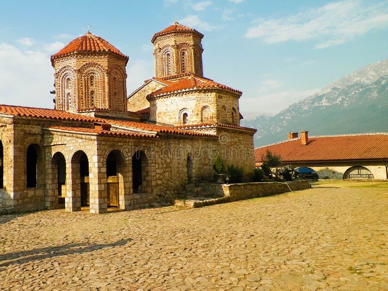 Monaster ?wi?tobliwy Naum, Macedonia obrazy stock