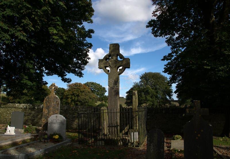 Monasterboice in Irland stockfotografie