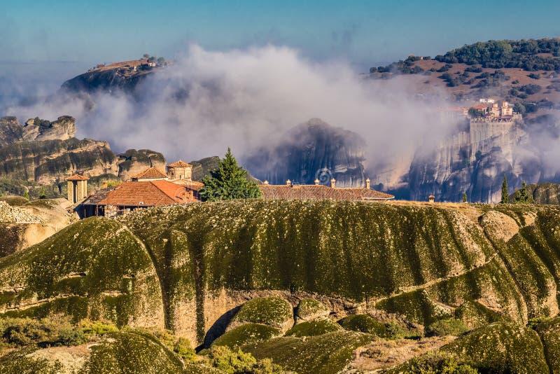 Monasteries Of Meteora - Greece, Europe stock photo