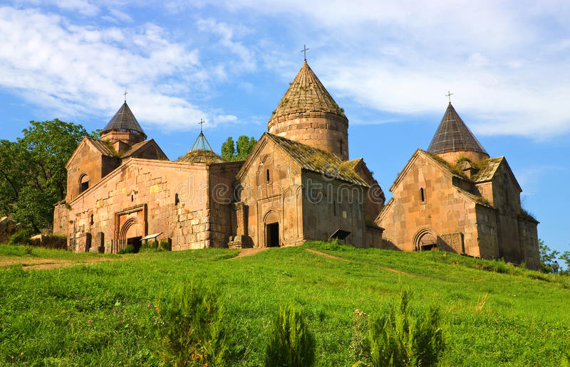 Monasterio armenio. fotografía de archivo