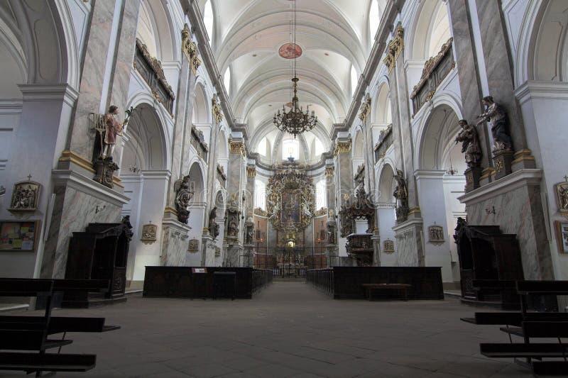 Monasterio - Bardo Slaskie foto de archivo