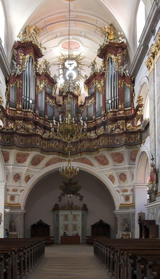 Monasterio - Bardo Slaskie foto de archivo libre de regalías