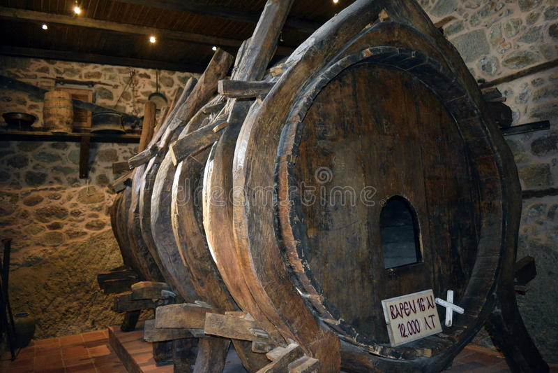 Monasterio Barel de Meteora foto de archivo