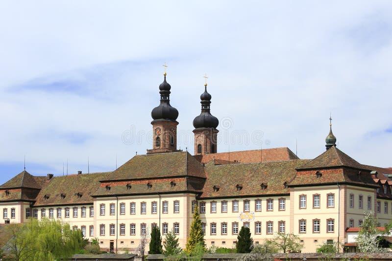 Monasterio benedictino anterior, Alemania fotografía de archivo libre de regalías