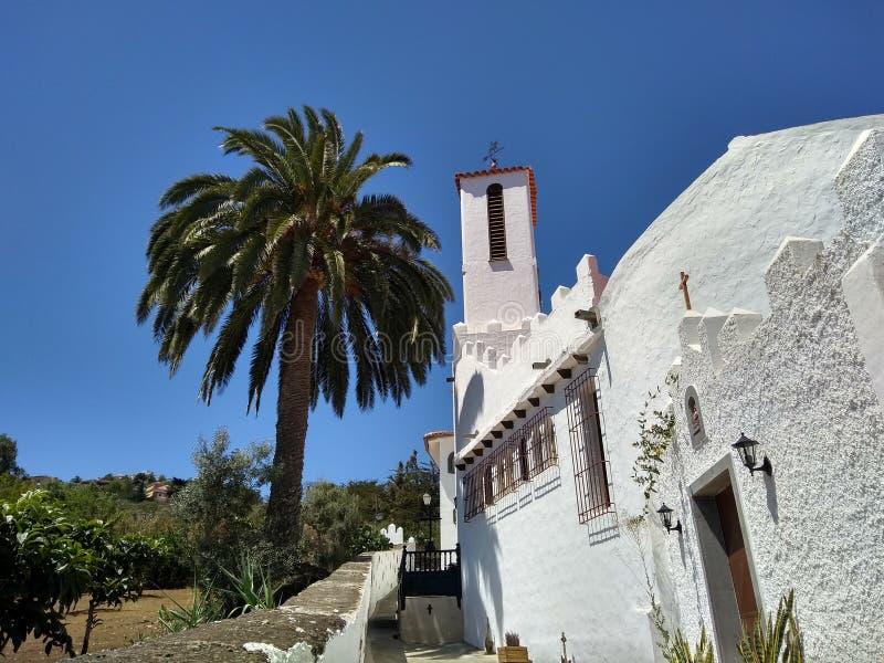 Monasterio benedictino de la trinidad santa - Gran Canaria fotos de archivo libres de regalías