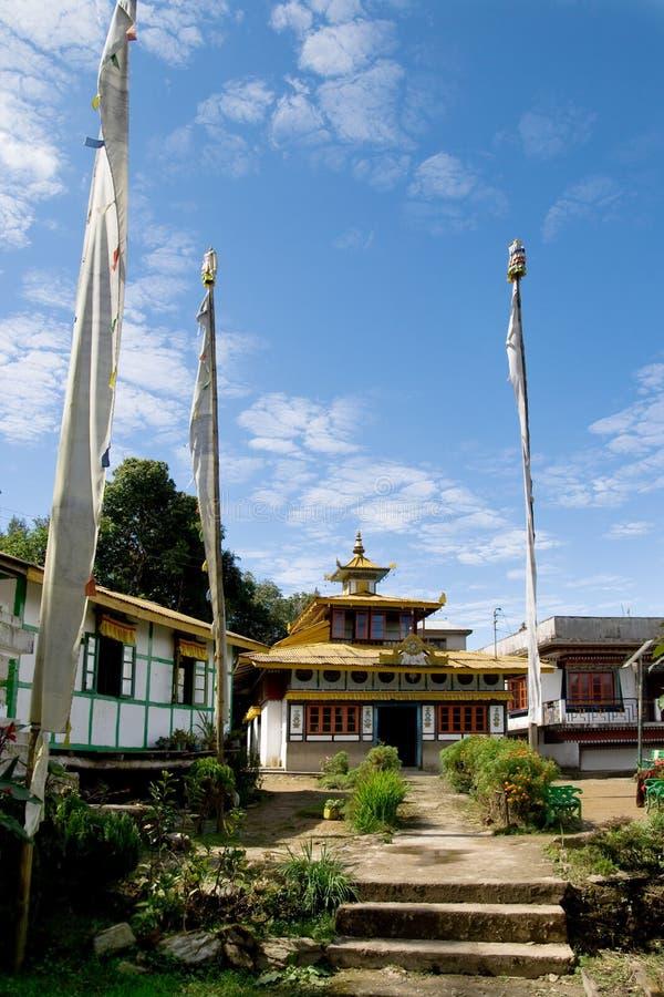 Monasterio Budista Foto de archivo libre de regalías