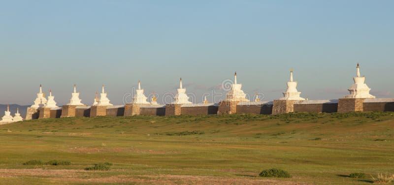 Monasterio budista Erdene Zu fotos de archivo