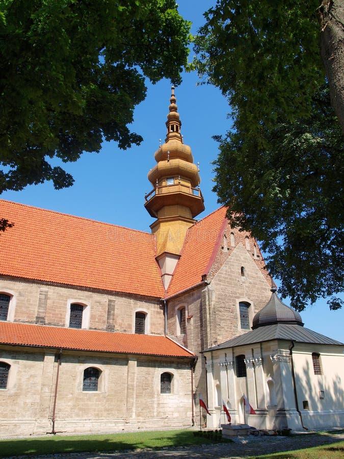 Monasterio cisterciense, Koprzywnica, Polonia imagen de archivo libre de regalías
