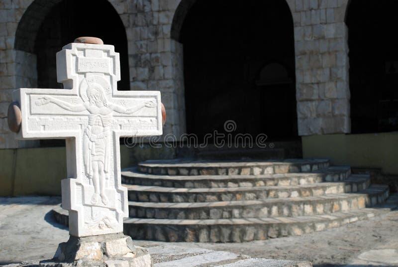 Monasterio Dajbabe02 imagenes de archivo