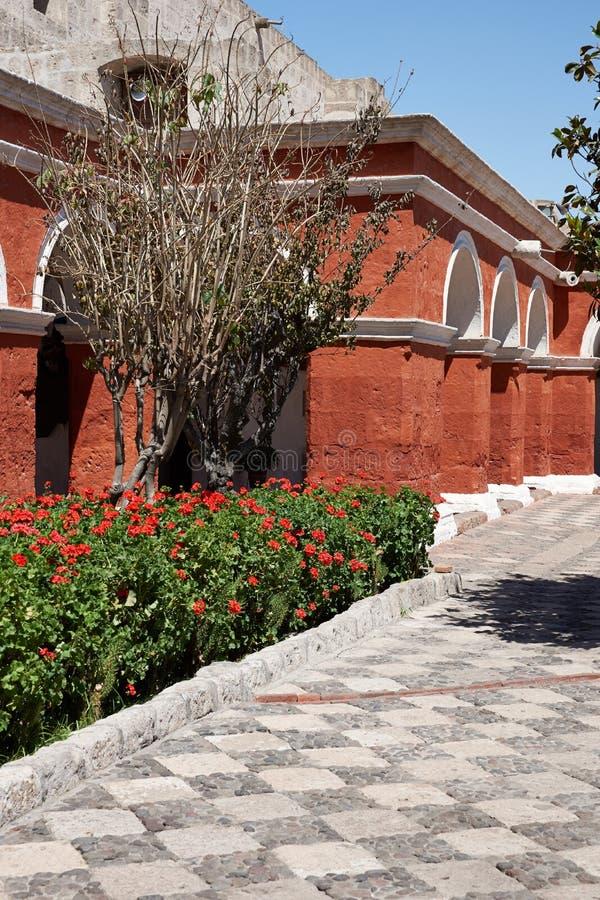 Monasterio de Санта Каталина стоковая фотография rf