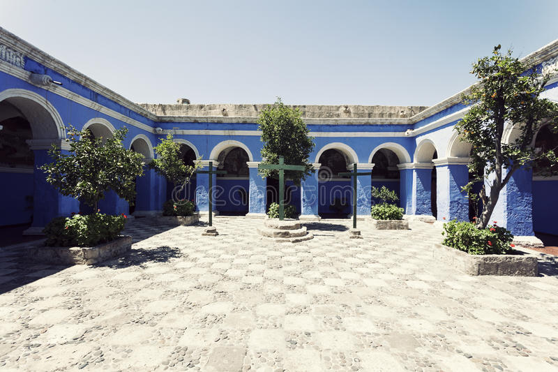Monasterio de Санта Каталина стоковое фото