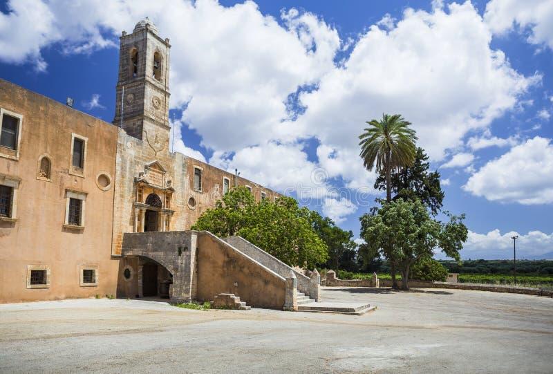 Monasterio de Agia Triada de Tzagarolon, Creta, Grecia fotos de archivo libres de regalías