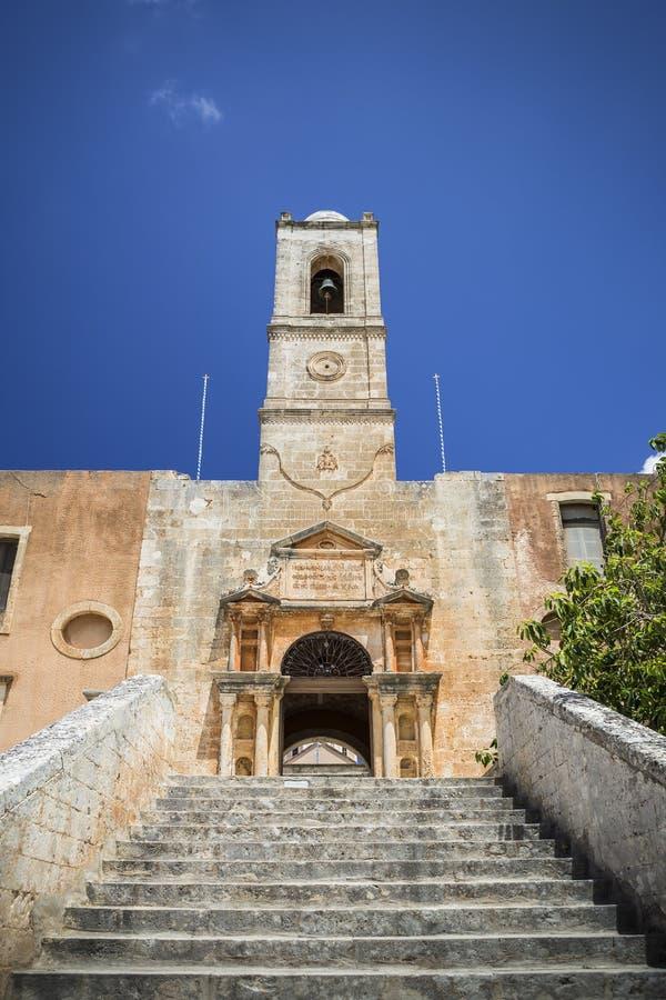 Monasterio de Agia Triada de Tzagarolon, Creta, Grecia foto de archivo libre de regalías