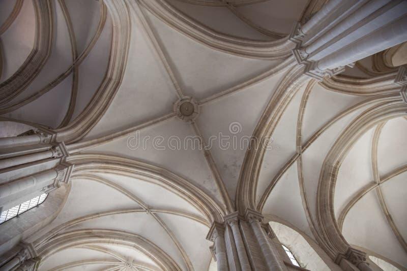 Monasterio de Alcobaca fotos de archivo