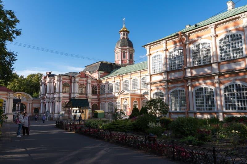 Monasterio de Alexander Nevsky Lavra en St Petersburg, Rusia foto de archivo libre de regalías
