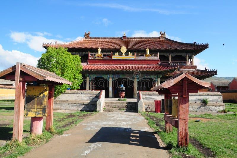 Monasterio de Amarbayasgalant en Mongolia central imagenes de archivo