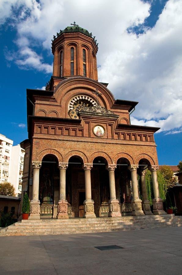 Monasterio de Antim - Bucarest fotografía de archivo
