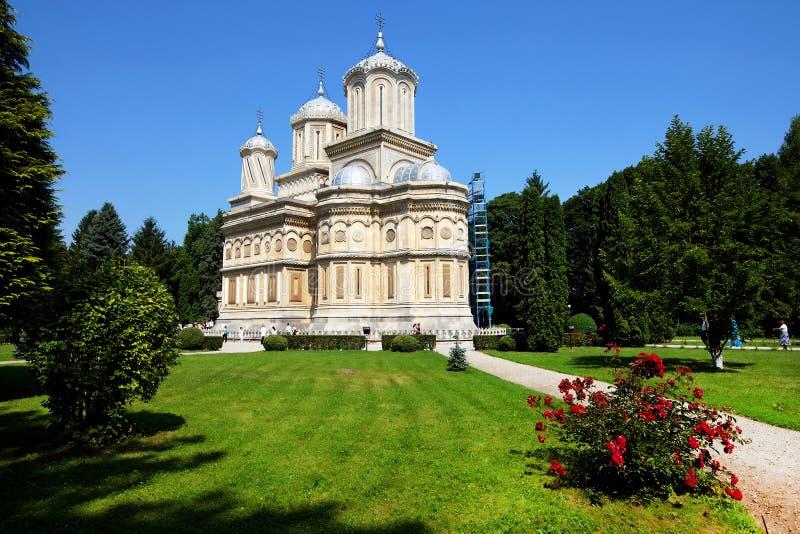 Monasterio de Arges fotografía de archivo