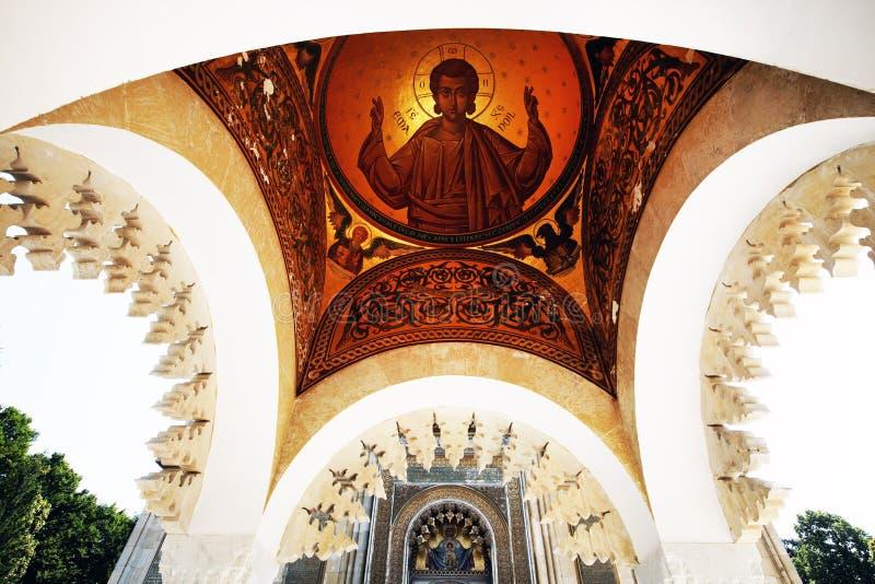 Monasterio de Arges, Rumania fotografía de archivo libre de regalías