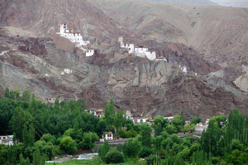 Monasterio de Basgo, Ladakh, la India imagen de archivo libre de regalías