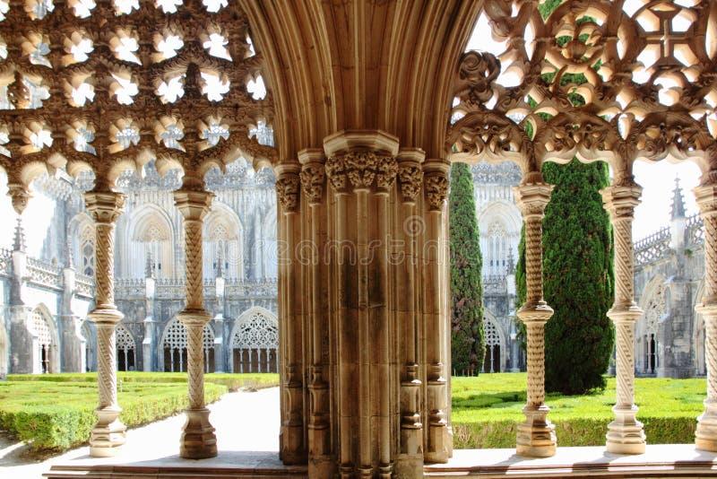 Monasterio de Batalha imagenes de archivo
