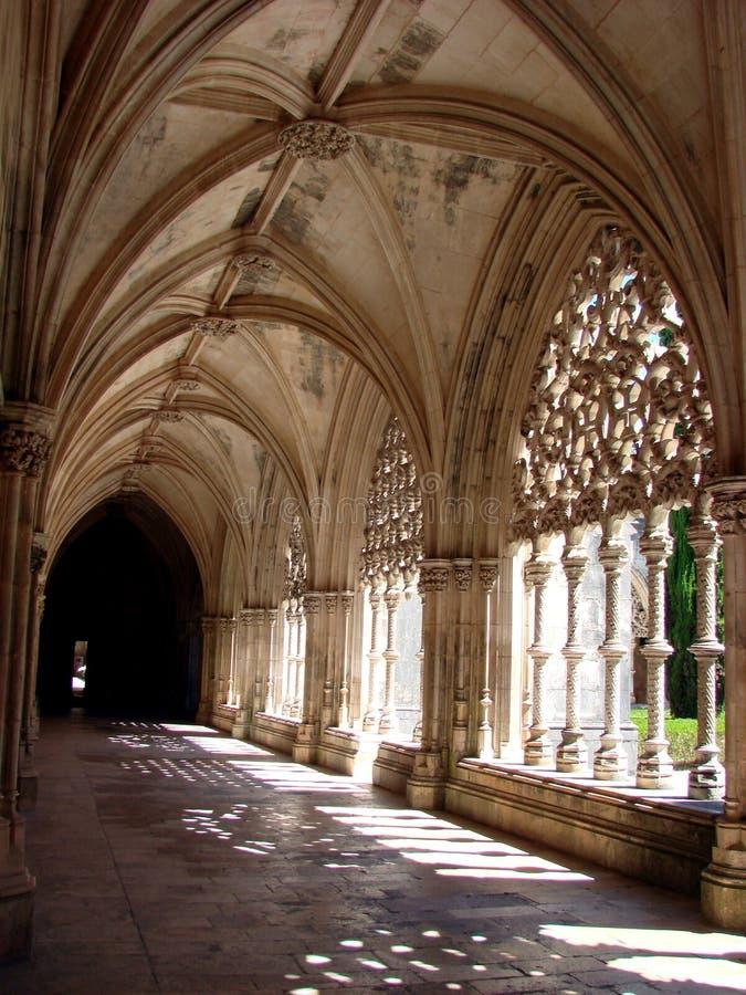 Monasterio De Batalha, Claustro Fotos de archivo libres de regalías