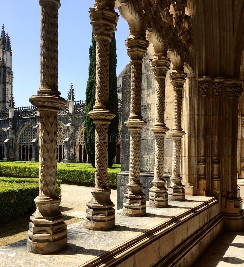 Monasterio de Batalha en Portugal foto de archivo libre de regalías