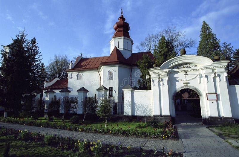 Monasterio de Bodrog foto de archivo