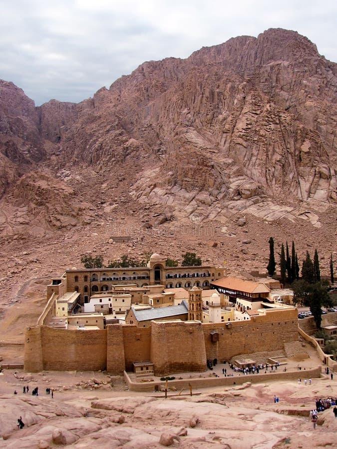 Monasterio de Catherine del santo imágenes de archivo libres de regalías