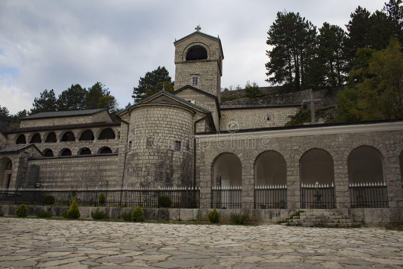 Monasterio de Cetinje imágenes de archivo libres de regalías