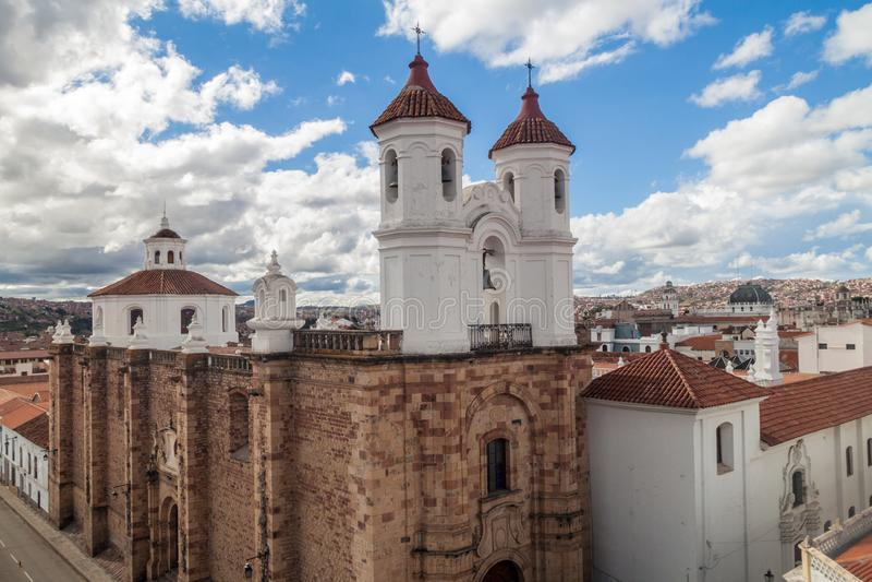 Monasterio de Convento de San Felipe Neri, Sucre, Bolivia imágenes de archivo libres de regalías