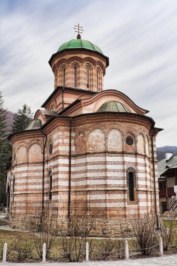 Monasterio de Cozia fotos de archivo